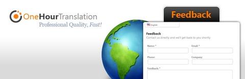 Multilingual Feedback Tab